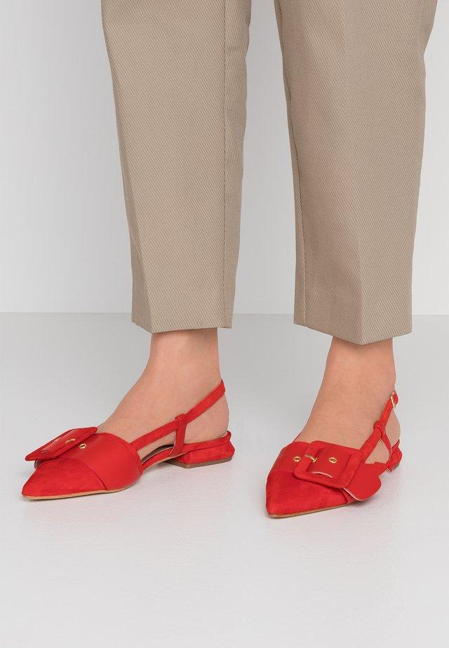 BORA BORA - Sandals - rosso