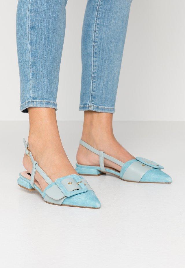 BORA BORA - Sandals - azzuro