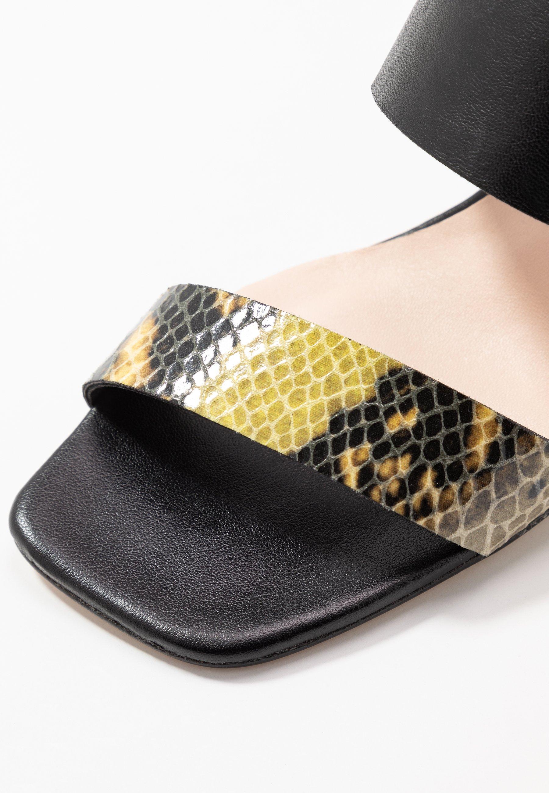 Tosca Blu Maiorca - Sandaletter Nero/giallo