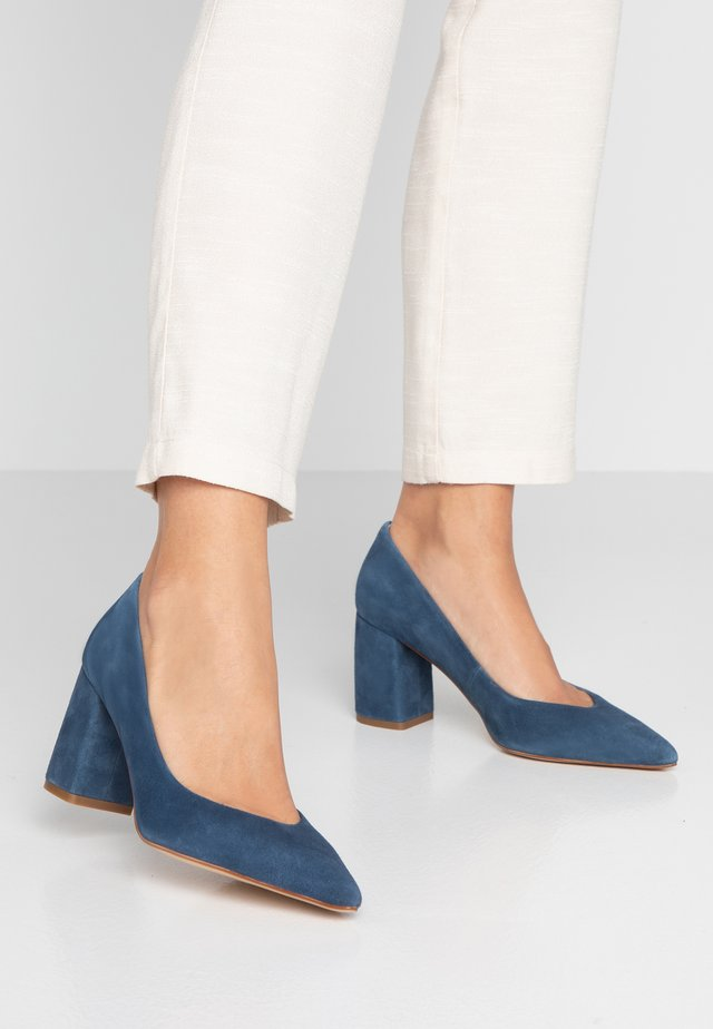BONITA - Classic heels - blu