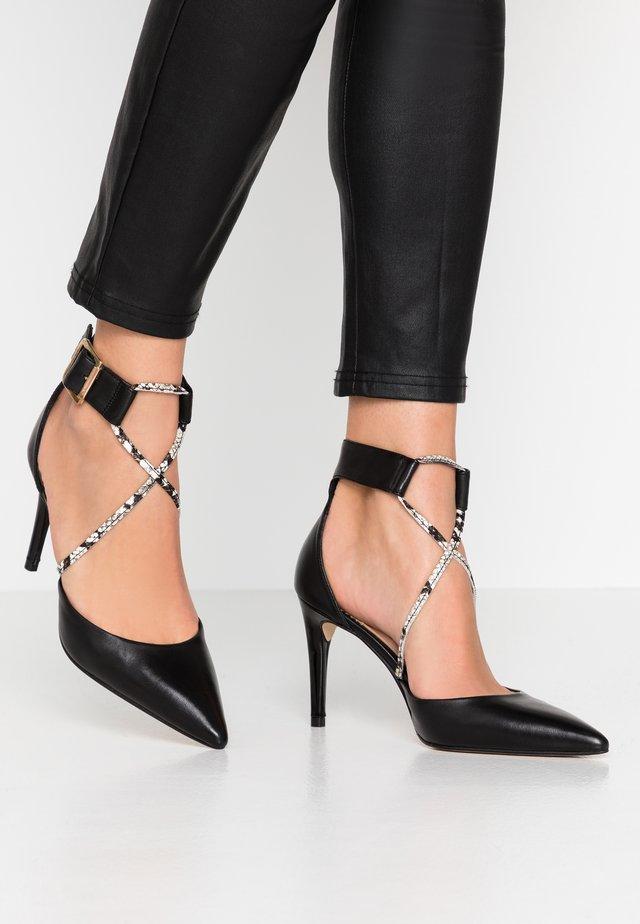 CORFU - High heels - nero/bianco