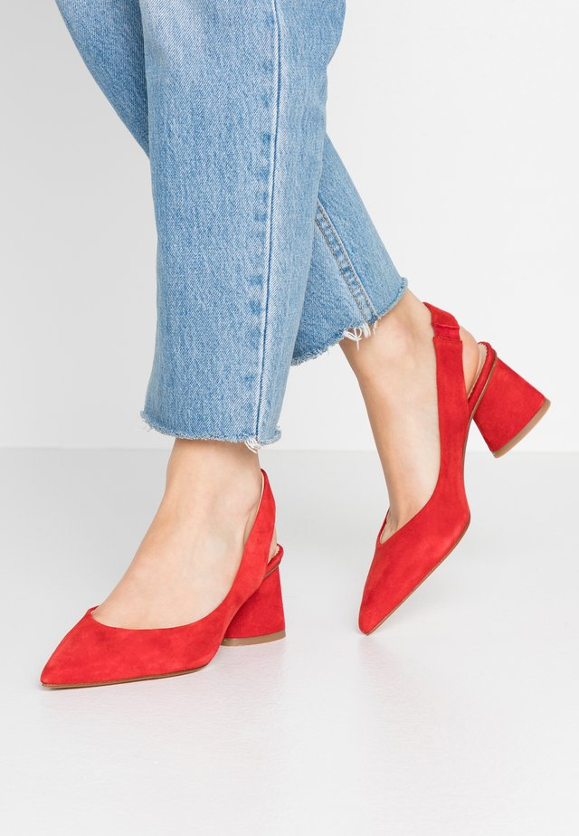CAYMAN - Classic heels - rosso