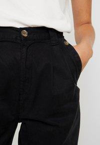 Topshop Tall - CAITLIN UPDATE - Pantalon classique - black - 5
