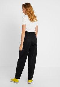 Topshop Tall - CAITLIN UPDATE - Pantalon classique - black - 3