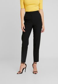 Topshop Tall - NEW SUIT - Kalhoty - black - 0