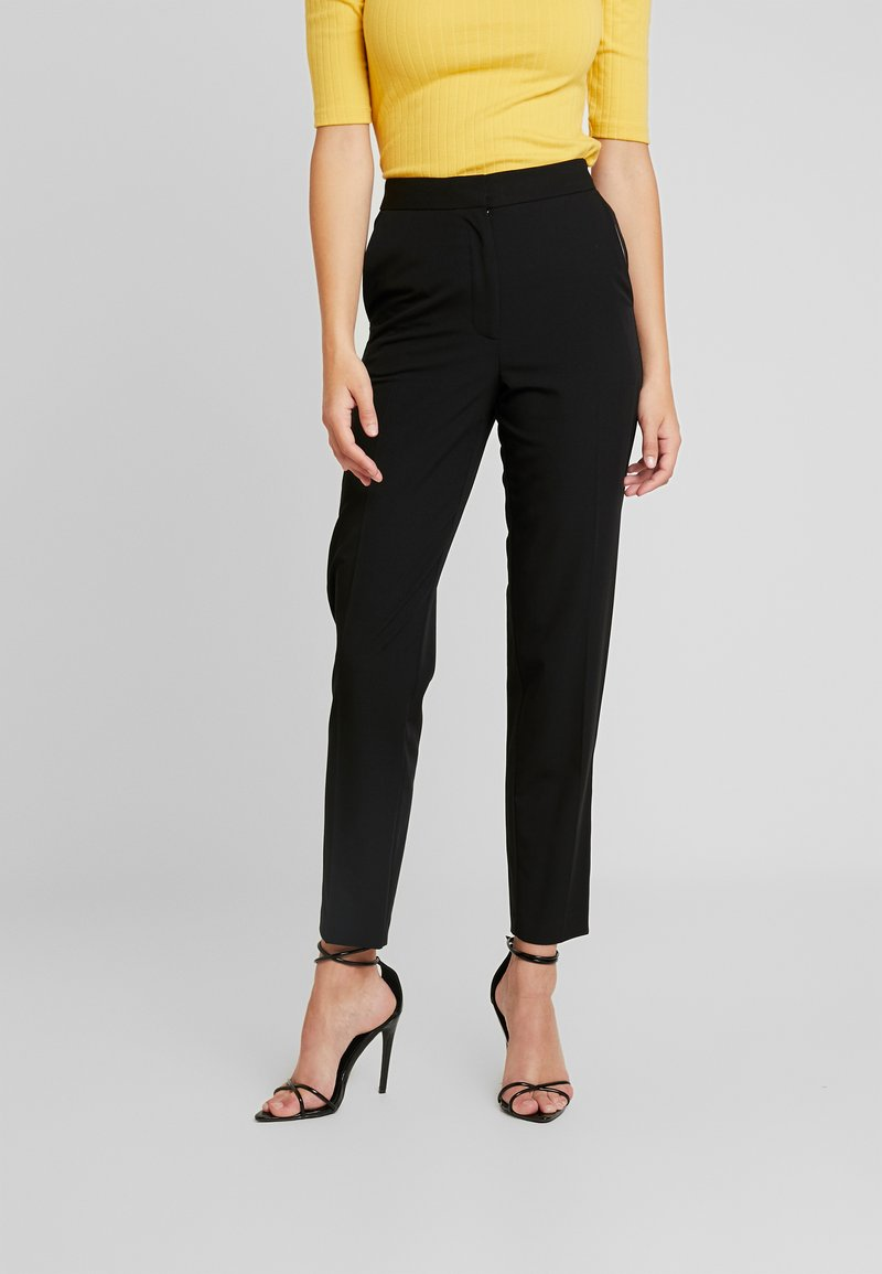 Topshop Tall - NEW SUIT - Kalhoty - black