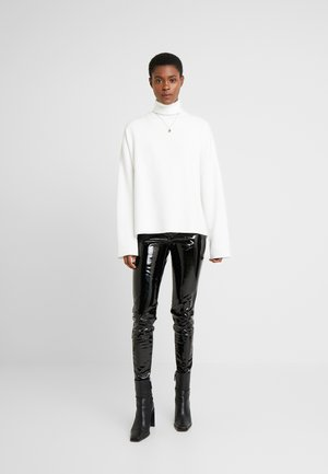 PIPER - Pantalon classique - black