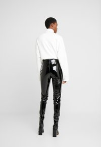 Topshop Tall - PIPER - Trousers - black - 2