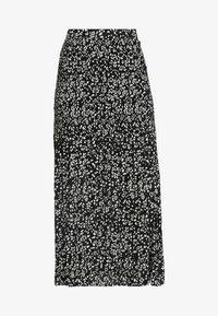 Topshop Tall - CRYSTAL PLEAT - Pleated skirt - mono - 4