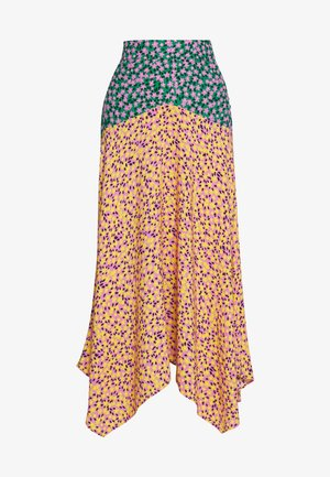 THRIFT MIXED FLORAL - Maxi skirt - multi
