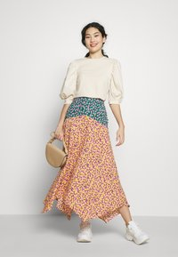 Topshop Tall - THRIFT MIXED FLORAL - Jupe longue - multi - 1