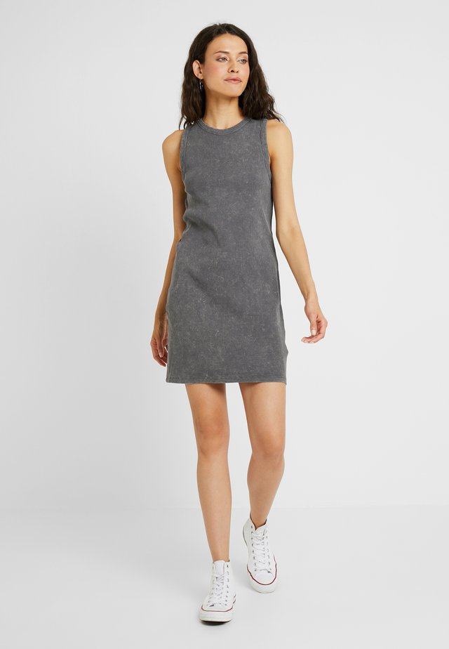 ACID WASH TUNIC - Jerseyjurk - grey