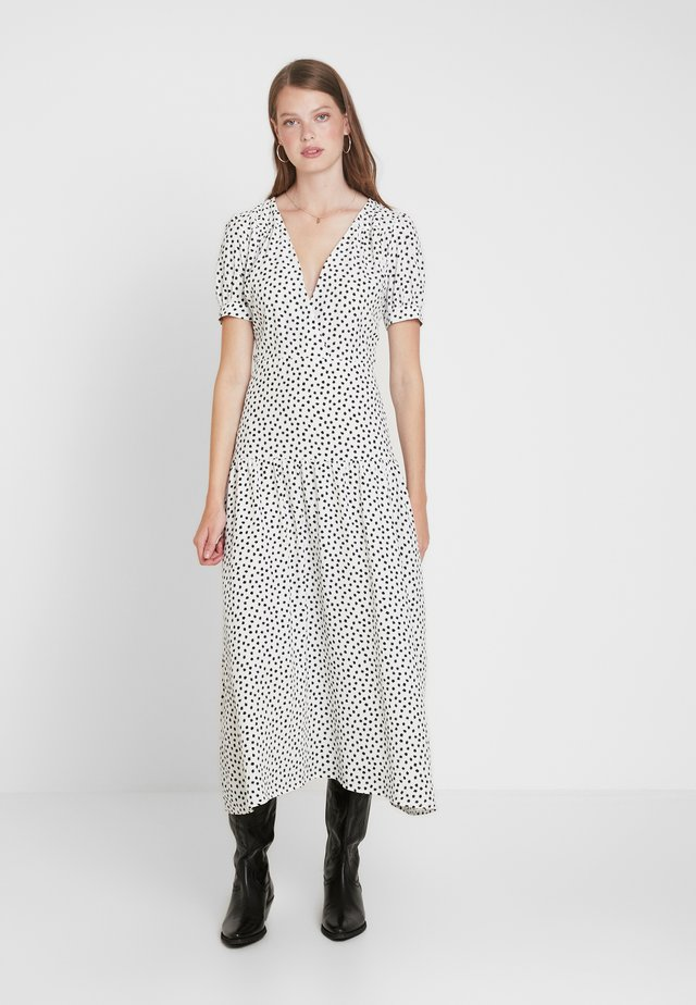 STARLIGHT PRINT DRESS - Day dress - white
