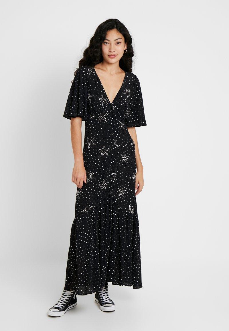 Topshop Tall - BUTTON - Maxi dress - mono