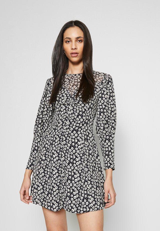 GRUNGE TWIST - Sukienka letnia - black