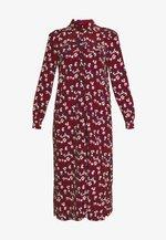 TRAPEEZE - Vestito lungo - burgundy