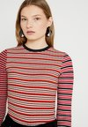 Topshop Tall - MIX STRIPE - Long sleeved top - multi