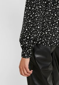Topshop Tall - STAR SHIRT - Overhemdblouse - black/white - 5