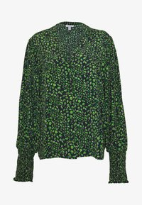 Topshop Tall - Button-down blouse - green - 4