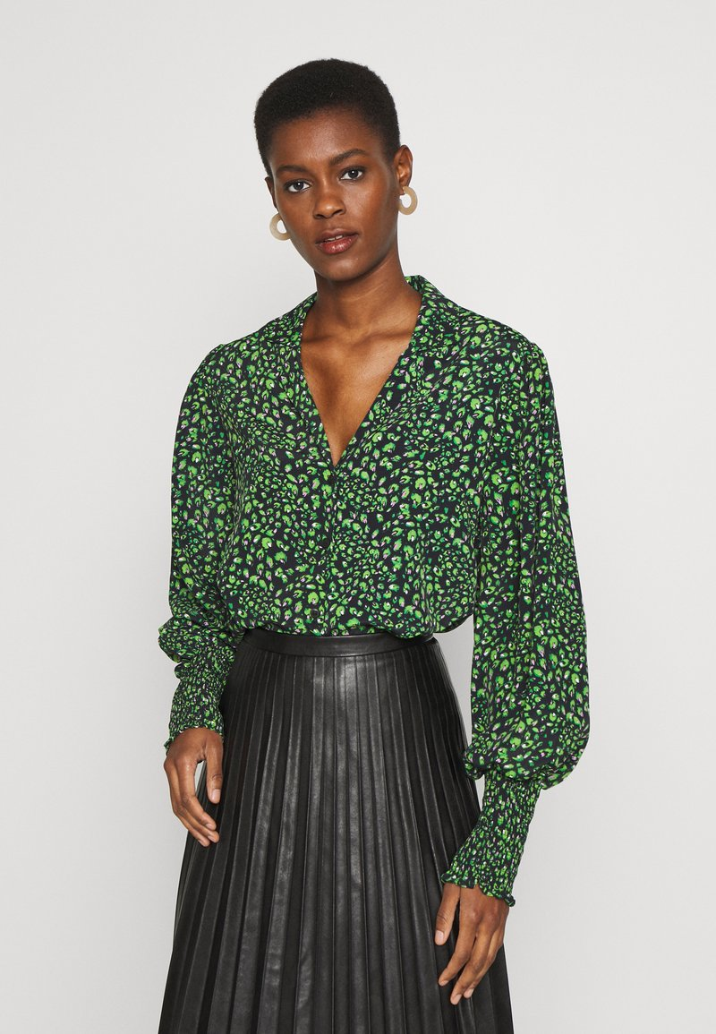Topshop Tall - Button-down blouse - green