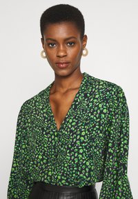 Topshop Tall - Button-down blouse - green - 3