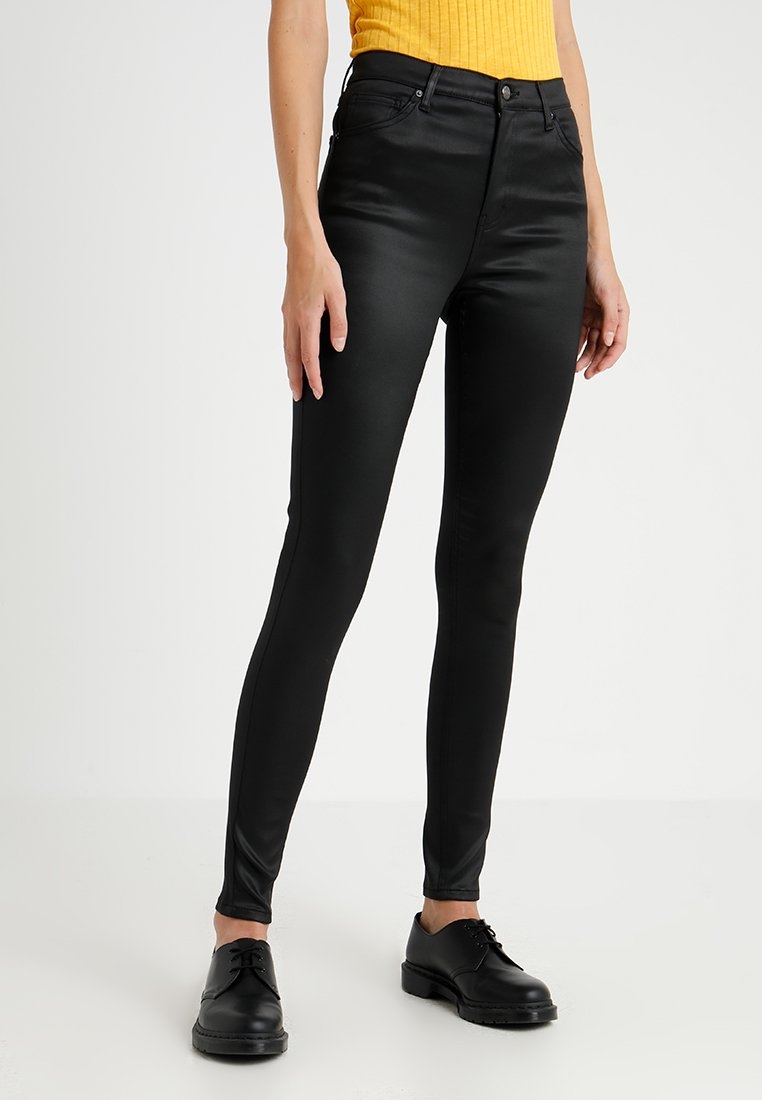 Topshop Tall - JAMIE - Pantalon classique - black