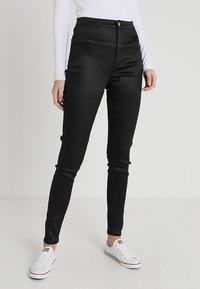 Topshop Tall - JONI - Trousers - black - 0