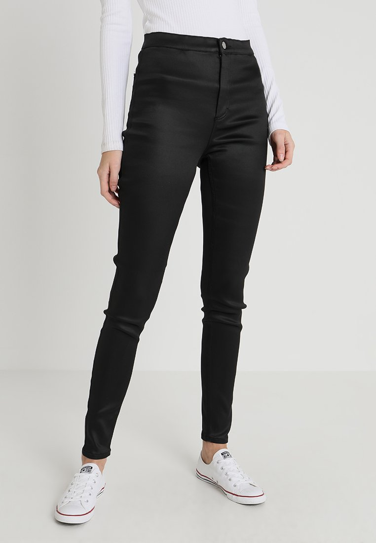 Topshop Tall - JONI - Trousers - black