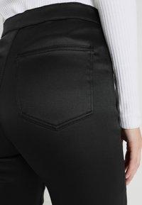 Topshop Tall - JONI - Trousers - black - 3