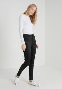 Topshop Tall - JONI - Trousers - black - 1