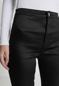 Topshop Tall - JONI - Trousers - black - 5