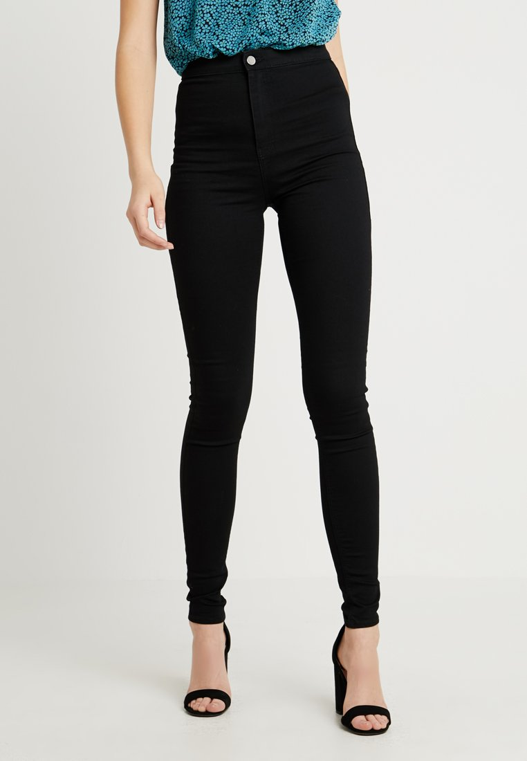 Topshop Tall - JONI - Jeans Skinny Fit - black