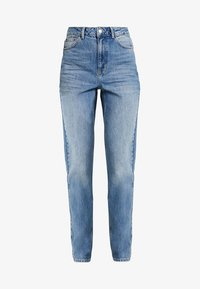 Topshop Tall - MOM - Relaxed fit jeans - blue - 4