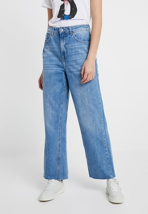 CROP - Jeans Relaxed Fit - blue