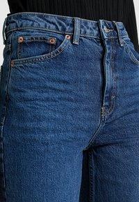 Topshop Tall - Straight leg jeans - blue denim - 4
