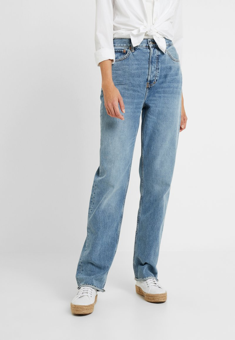 Topshop Tall - DAD   - Relaxed fit jeans - blue