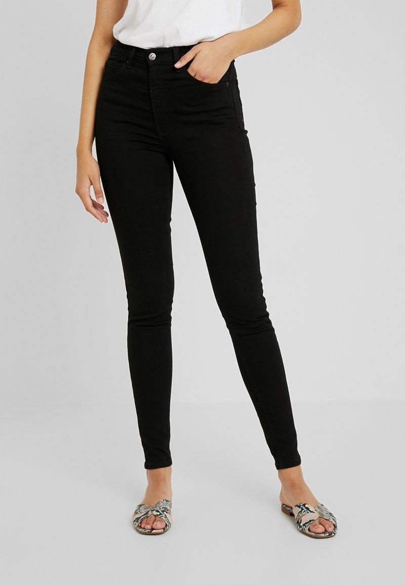 Topshop Tall - Jeans Skinny Fit - black