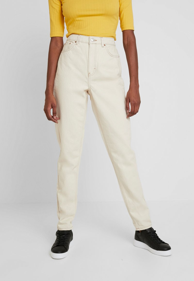 Topshop Tall - MOM - Jeans Relaxed Fit - ecru