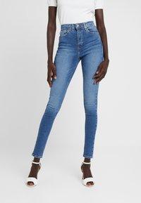 Topshop Tall - JAMIE - Jeans Skinny Fit - blue denim - 0