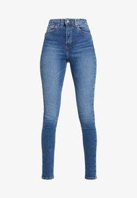 Topshop Tall - JAMIE - Jeans Skinny Fit - blue denim - 3