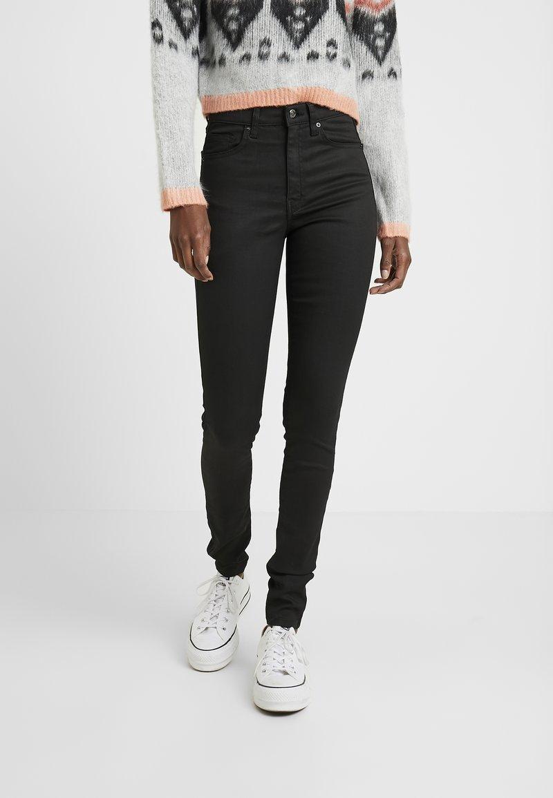 Topshop Tall - JAMIE  - Jeans Skinny Fit - black