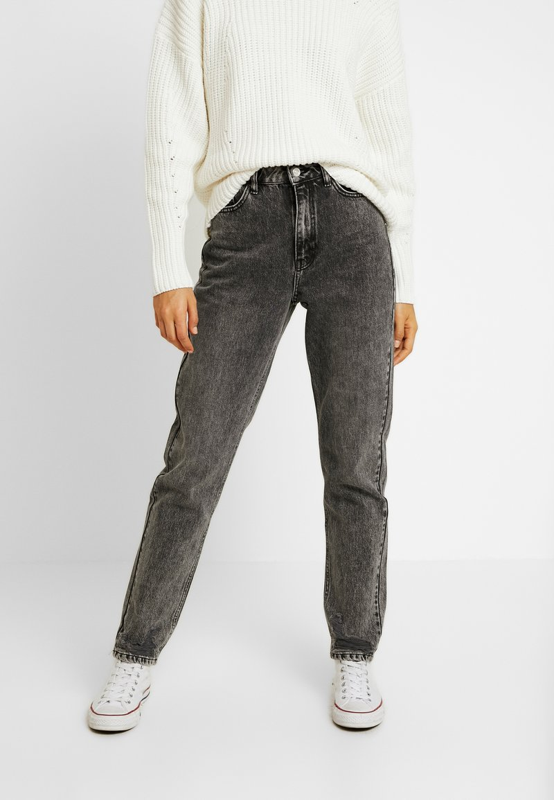 Topshop Tall - MOM - Relaxed fit jeans - grey