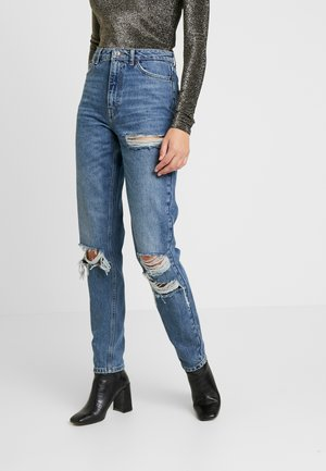 MOM TOKYO - Jeans relaxed fit - blue denim