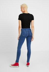 Topshop Tall - JONI - Jeans Skinny Fit - blue denim - 2