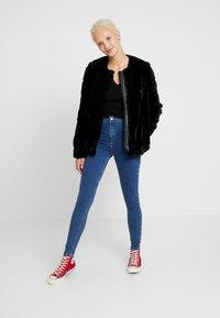 Topshop Tall - JONI - Jeans Skinny Fit - blue denim - 1