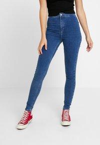 Topshop Tall - JONI - Jeans Skinny Fit - blue denim - 0