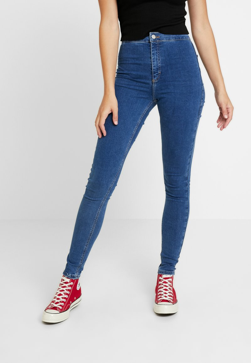 Topshop Tall - JONI - Jeans Skinny Fit - blue denim