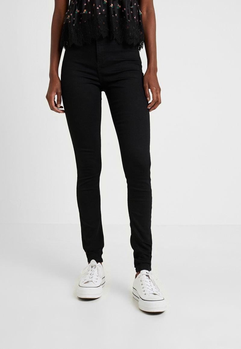 Topshop Tall - JONI CLEAN - Jeans Skinny Fit - black