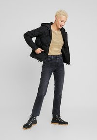 Topshop Tall - Straight leg jeans - washed black - 1