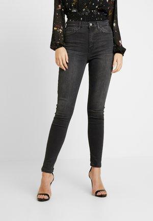 JAGGED HEM JAMIE - Jeans Skinny Fit - washed black